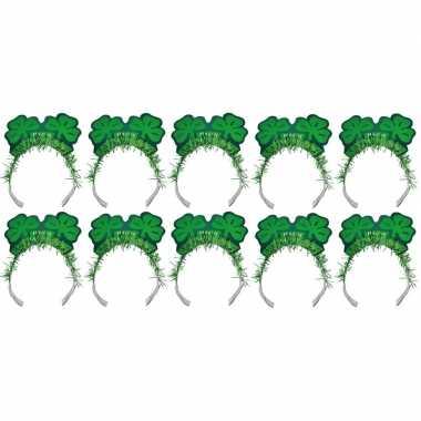 10x st. patricks haarbanden