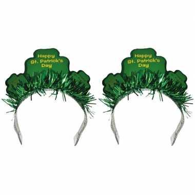 2x st. patricks haarbanden