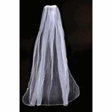 Bruidssluier met diadeem verkleed accessoire