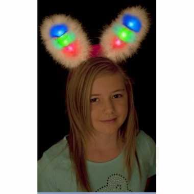 Bunny oren wit met led lampje