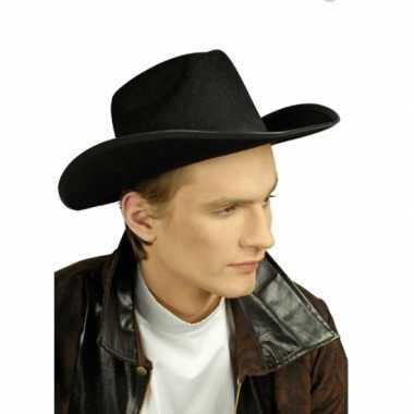 Cowboyhoeden zwart volwassenen
