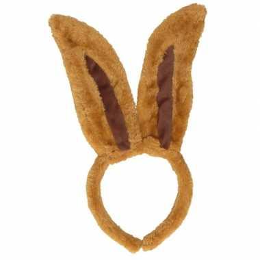Diadeem van bruine konijnen oren