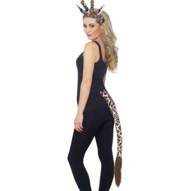 Dieren verkleedset giraffe 10078162