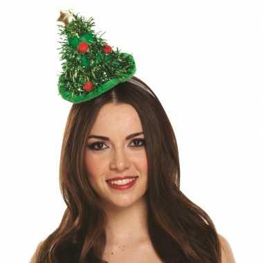 Haarband met kerstboom voor volwassenen