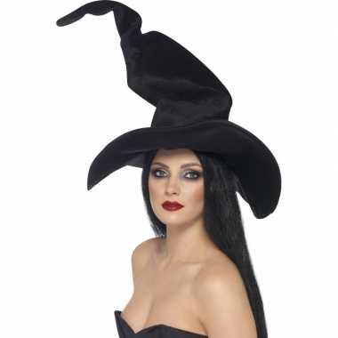 Heks verkleed hoed met kreukeltjes