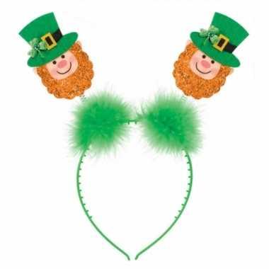 Ierse st patricks day hoofdband voor volwassenen