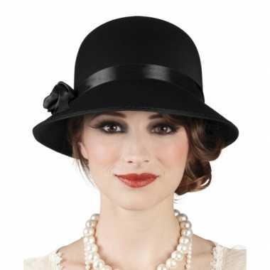 Jaren twintig dames hoed