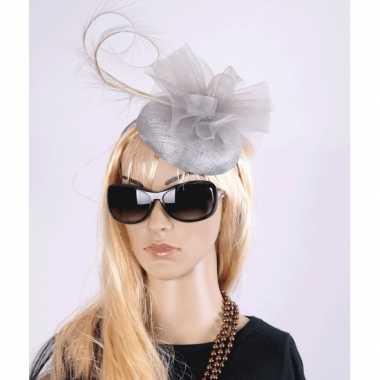 Koninginnen hoeden Christina grijs