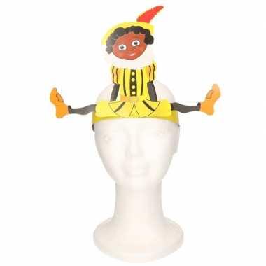 Pieten hoofdband geel voor kinderen