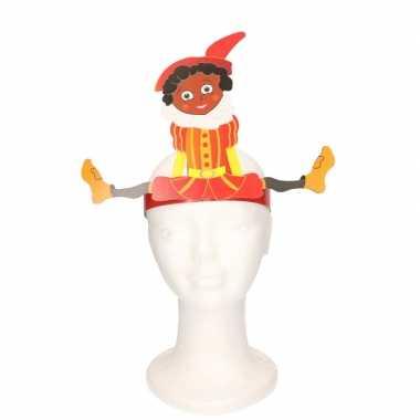 Pieten hoofdband rood voor kinderen