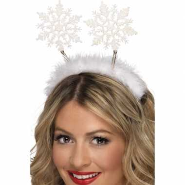 Sneeuwvlok kerst diadeems