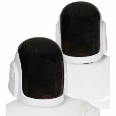 Space disk jockey helm voor volwassenen