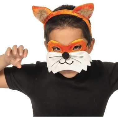 Verkleedsetje vos voor kinderen