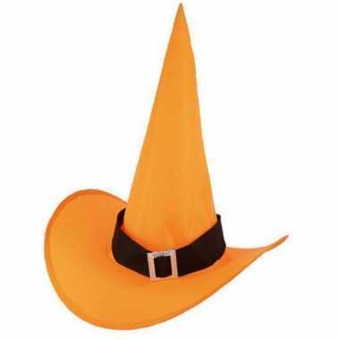 Voordelige oranje heksenhoed