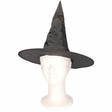 Zwart heksenhoedje voor kinderen