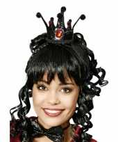 Zwarte kroon voor een prinses